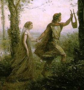 La sortie des enfers par Corot